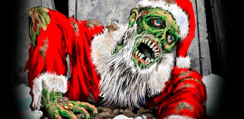 zombies de navidad