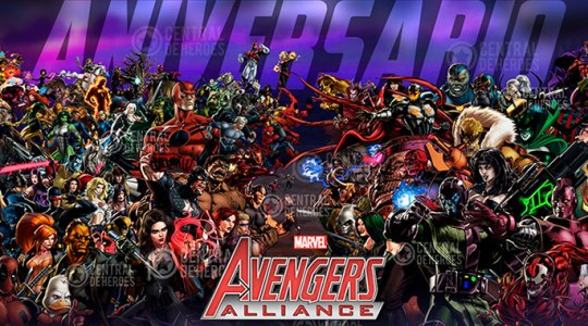 maa marvel avengers alliance
