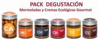 Pack Degustación Mermeladas y Cremas Ecológicas