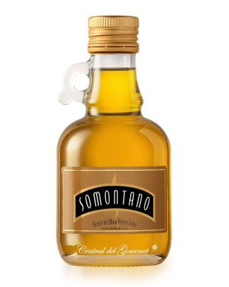 Aceite Somontano Oliva Virgen Extra coupage aceitera cristal 250 ml