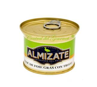 Foie Gras Gourmet con trozos Almizate