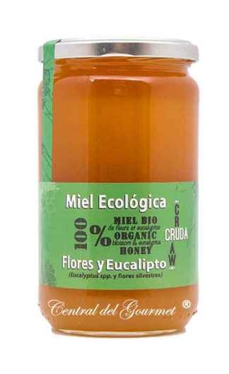 Miel Ecológica Cruda Gourmet Eucalipto Verdemiel 800 gr