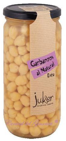 Garbanzos Gourmet al Natural Juker