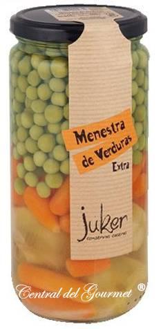 Menestra de Verduras gourmet extra al Natural, Juker tarro 720gr