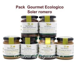 Pack Gourmet Ecologico Soler Romero degustacion