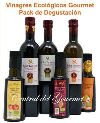 Vinagres Ecológicos Gourmet Pack 6 degustación