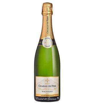 Reserva Brut Blanc de Blancs, francés Charles de Fere, botella 75cl