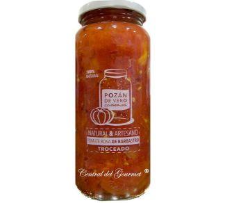 Tomate Rosa de Barbastro, troceado natural 100% de conservas Pozan de Vero