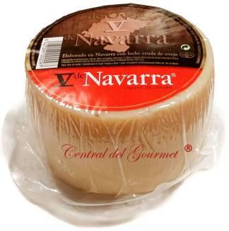 v de navarra queso leche cruda oveja natural 1kgr