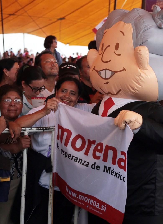 Andrés Manuel López Obrador en Cuernavaca | Foto: Margarito Pérez Retana | centraldenoticias.mx