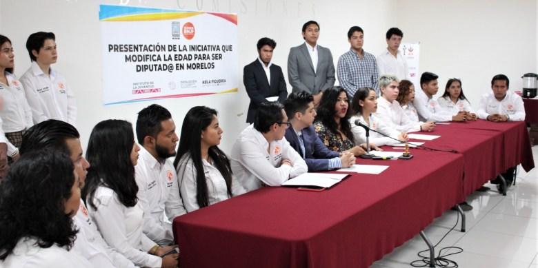 REDUCIR A 18 AÑOS LA EDAD MÍNIMA PARA SER DIPUTADO AL CONGRESO DE MORELOS . 01jpeg