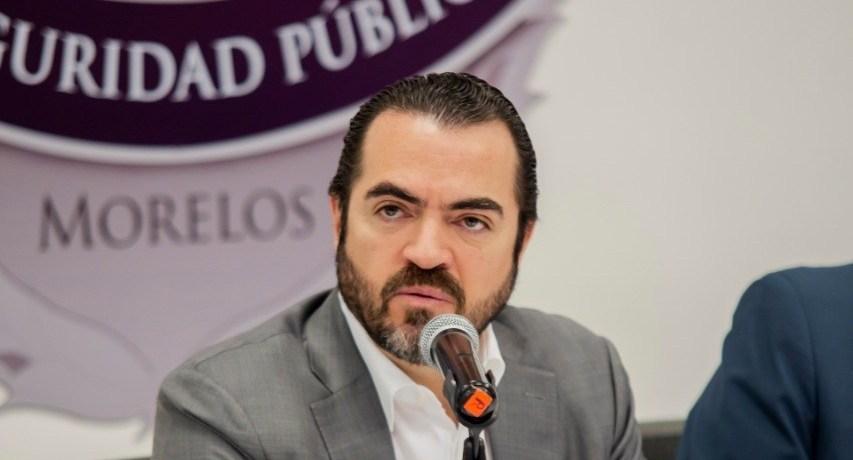 Pablo Ojeda Secretario de Gobierno de Morelos
