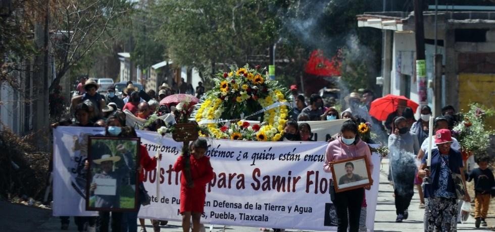 Recuerdan a Samir Flores a dos años de su asesinato; activistas exigen justicia