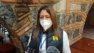 Cristina Balderas dirigente estatal del PRD