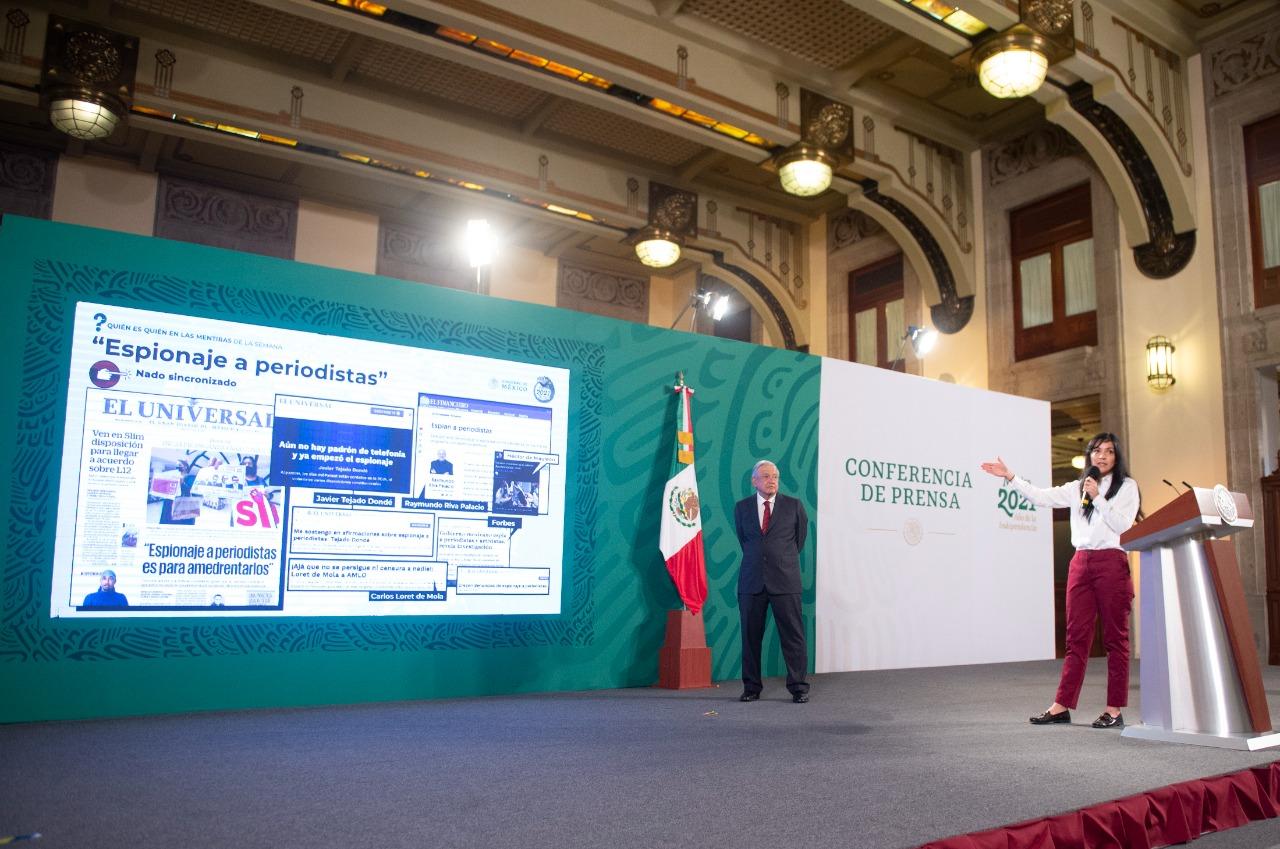 Conferencia mañanera del Presidente López Obrador