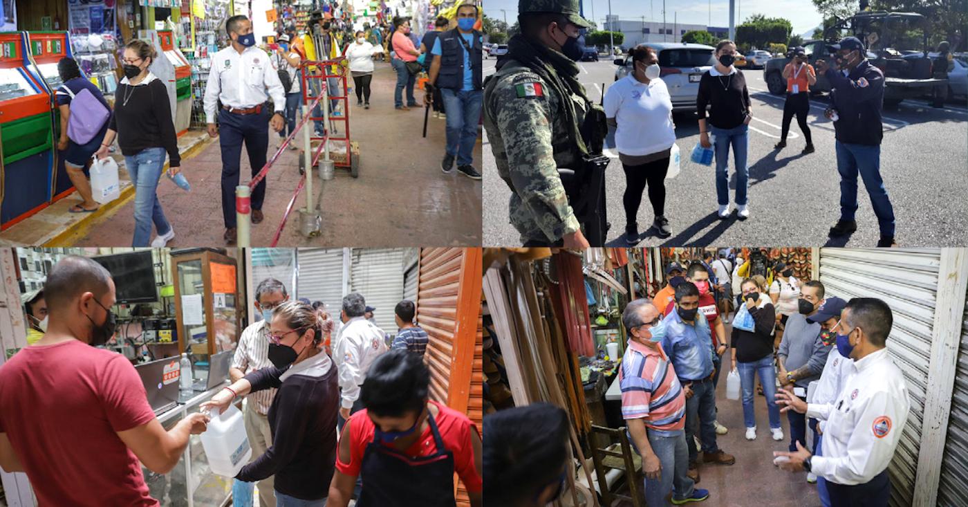 Megaoperativo contra Covid-19 en la Zona Sur de Morelos