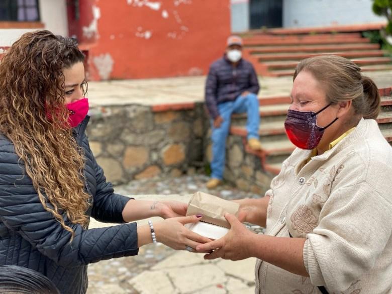 Donación de comida en Cuernavaca