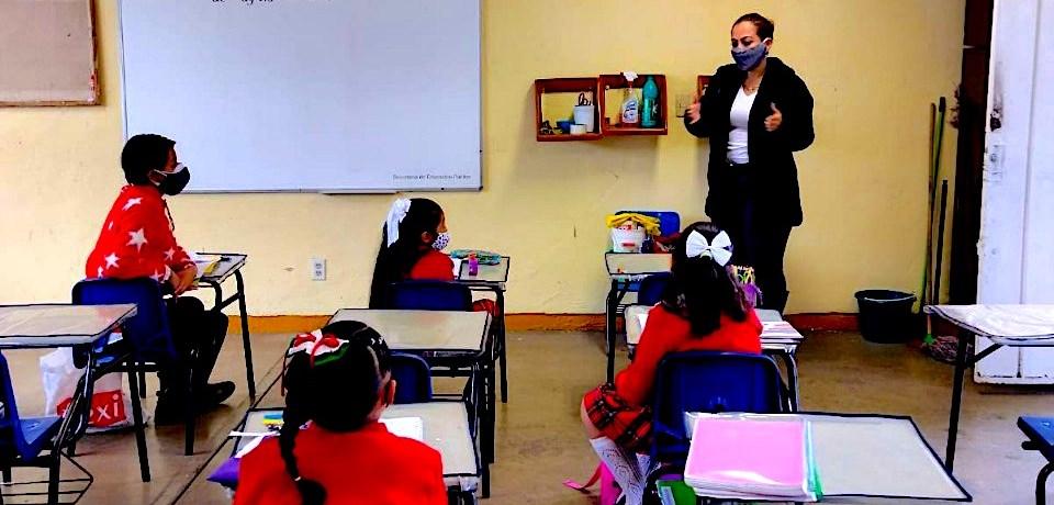 Escuela de Morelos tras el regreso presencial a clases Central de Noticias Mx