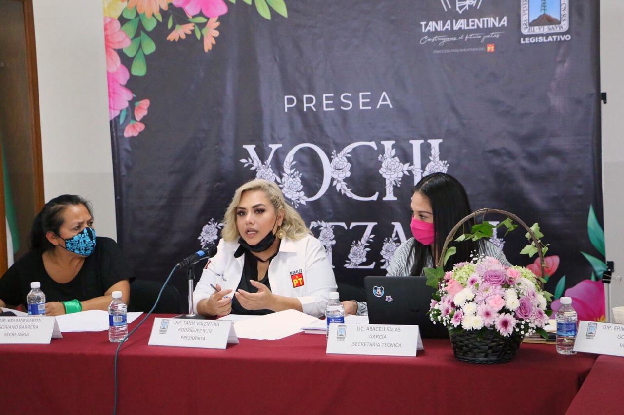 Anuncia Tania Valentina a la galardonada de la Presea Xochiquetzalli 2021