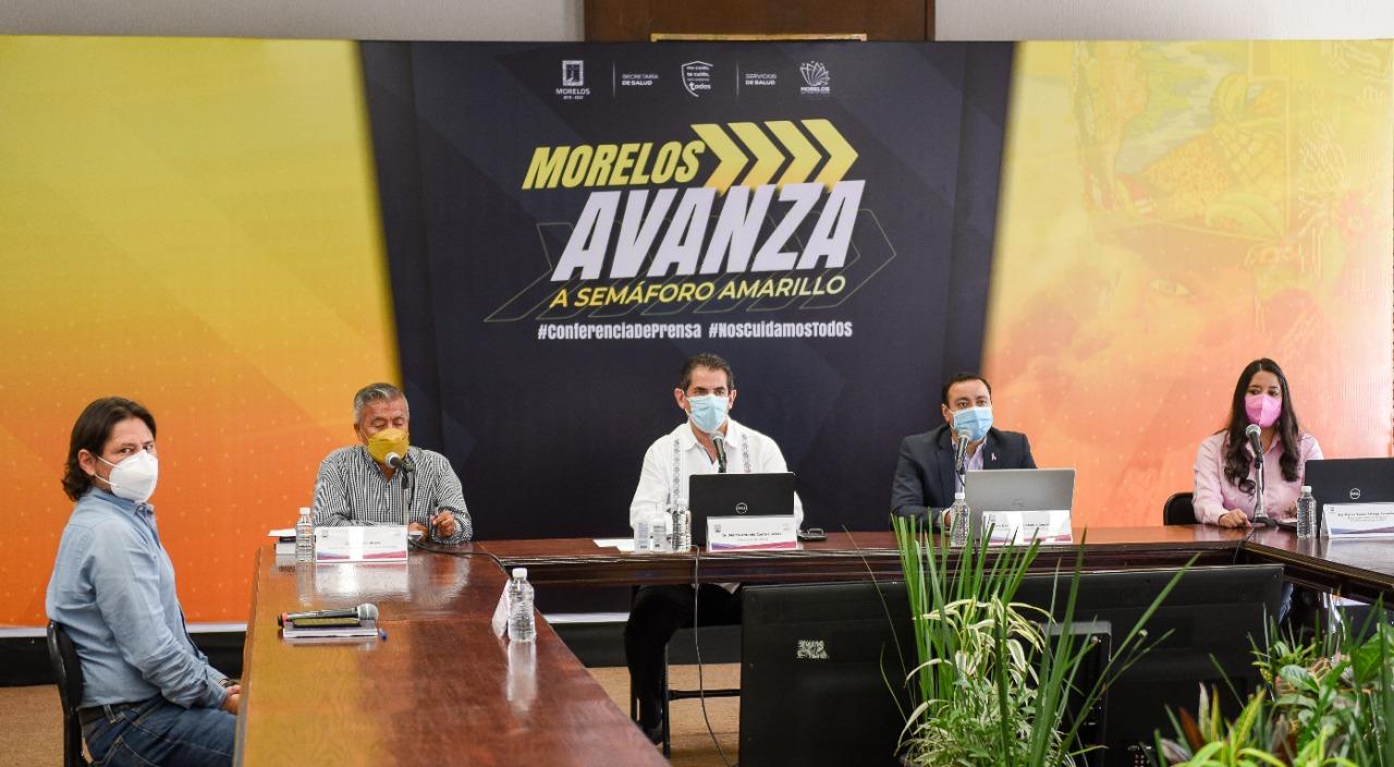 Disminuye número de contagios activos de Covid-19 en Morelos