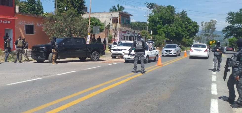 Fiscalías General del Estado y General de la República montan operativo en el sur de Morelos