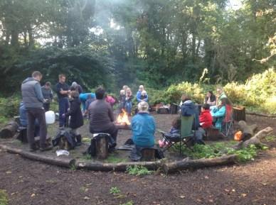 quaker campfire circle