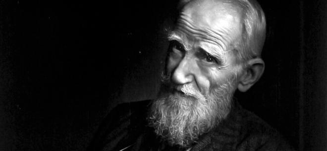 George Bernard Shaw Home Slider Background