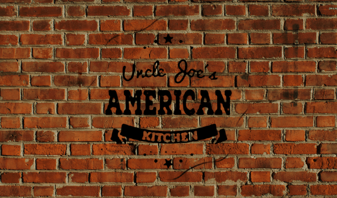 Uncle Joe's American Kitchen Home Slider Background