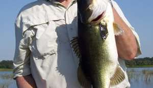 Lake Toho and Kissimmee Chain Bass Fishing Oct 1st 2010