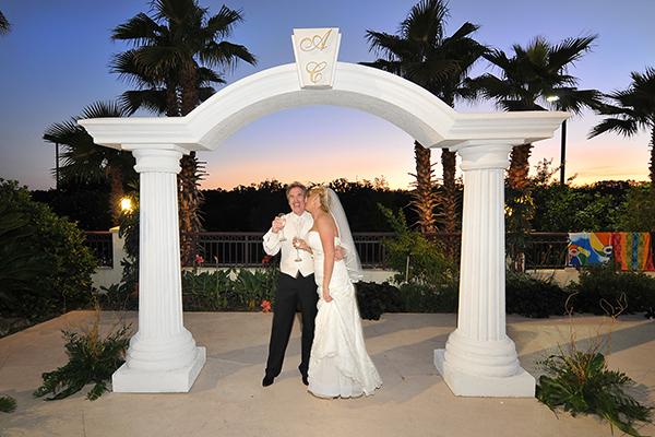 Custom Wedding Sets Foam Stage Props