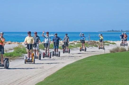 Segway tour on the beach in Florida