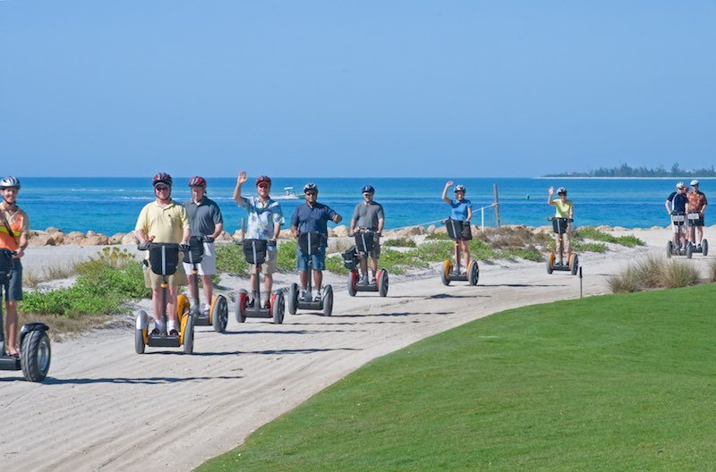 Segway tour on the beach in Florida