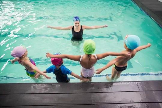 Children swim school