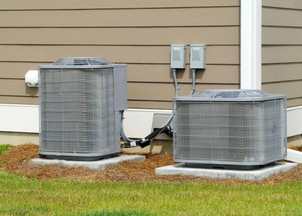 HVAC system in good working order