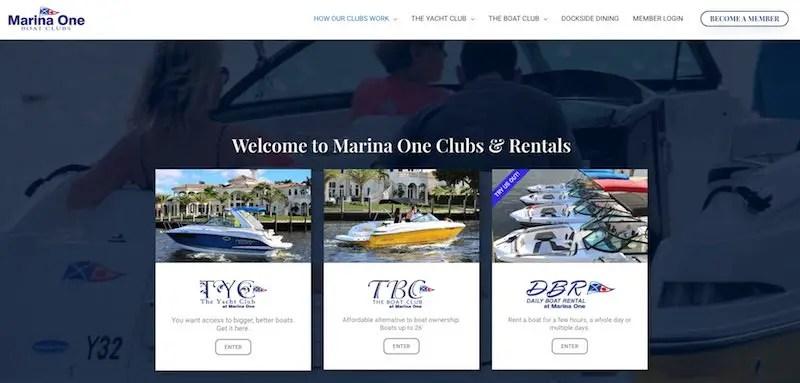 Marine One, Boat Club Florida: Enjoy Boating Without the Hassle