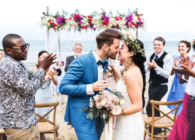 perfect beach wedding florida