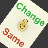 Change Same Switch Showing That We Should Do Things Differently