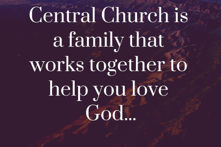 Vision statement for Central Church