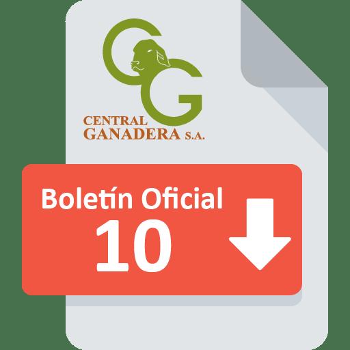 Boletín Oficial 10