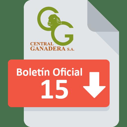 Boletín Oficial 15
