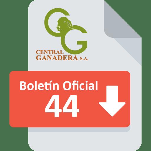 Boletín Oficial 44