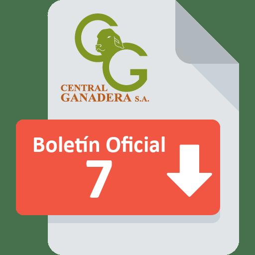 Boletín Oficial 7