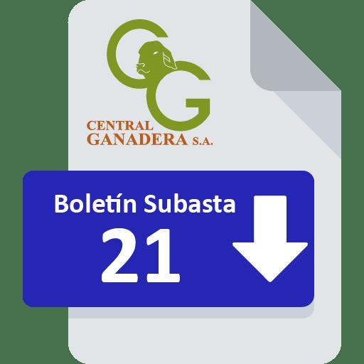 Resultados Subasta 21