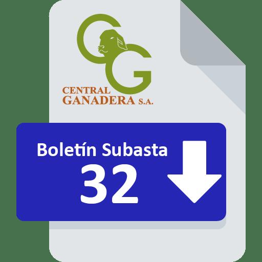 Resultados Subasta 32