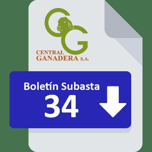 Resultados Subasta 34