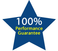 100% Performace Guarantee
