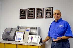 Jim Woolley of Central Heating and Air Conditioining