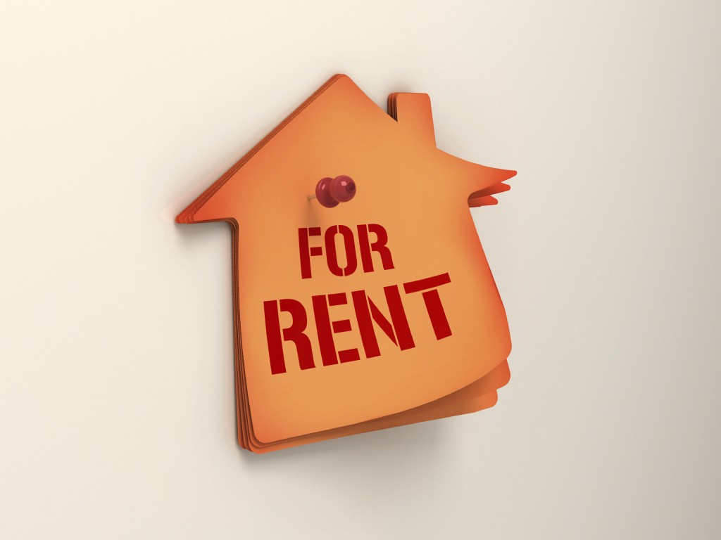 For Rent sign is Buy To Let Investment for landlord