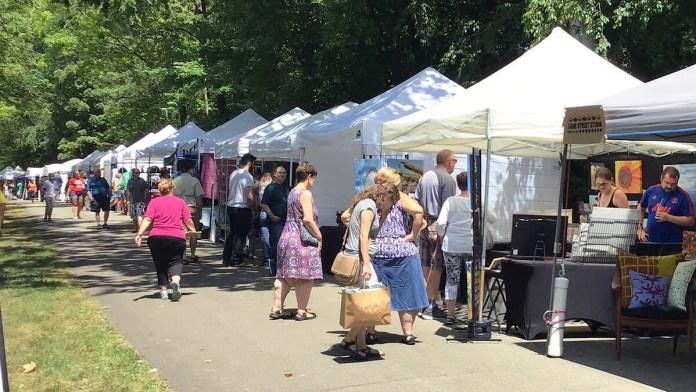 A new Central Illinois destination - Urbana's art fair makes a big splash