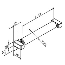 Lateral Guide Support 70